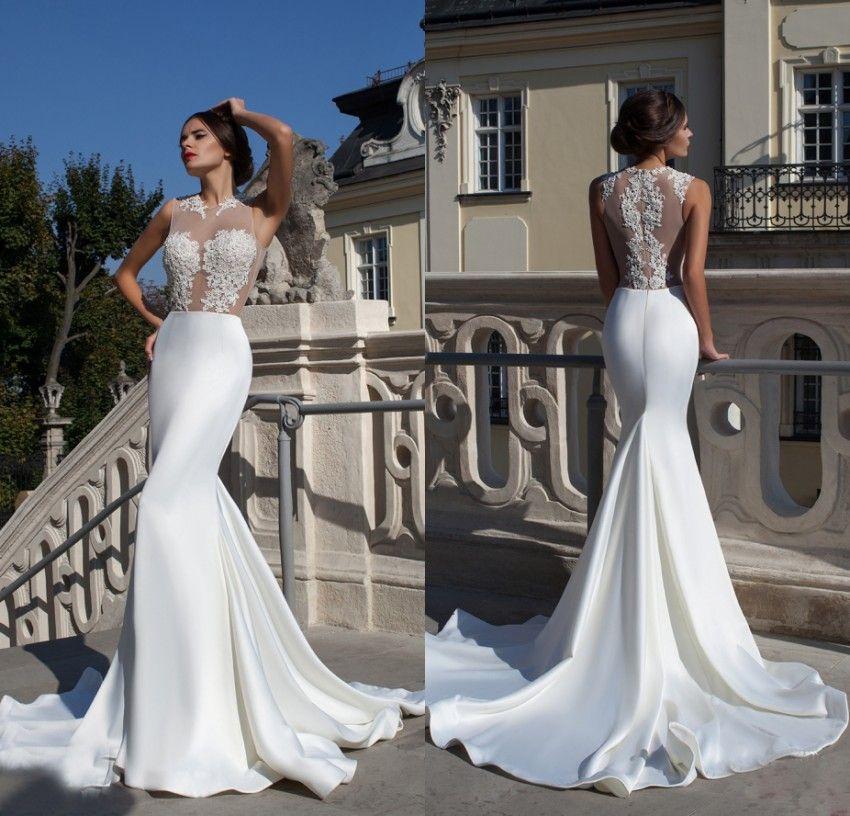 ... Bridal Gowns Louis Heart Fish. 2017 New Y Lace Mermaid Wedding Dress  Beach Simple 88773211f1a1