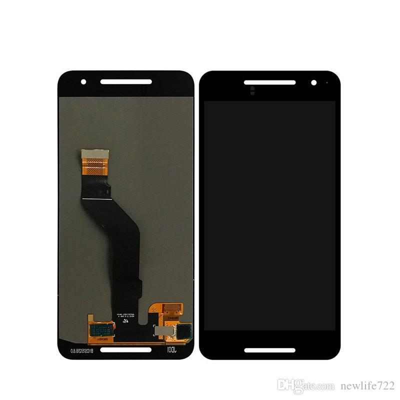 For Huawei Google Nexus 6P H1511 H1512 Touch Screen Digitizer With LCD Display Assembly Full Original Screen Repair Parts Black Color