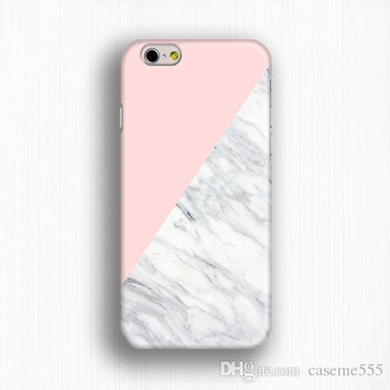 iphone 7 cases marble. cool cell phone case pink marble triangle cover colorful 3d for iphone 7 plus cases customized from 6