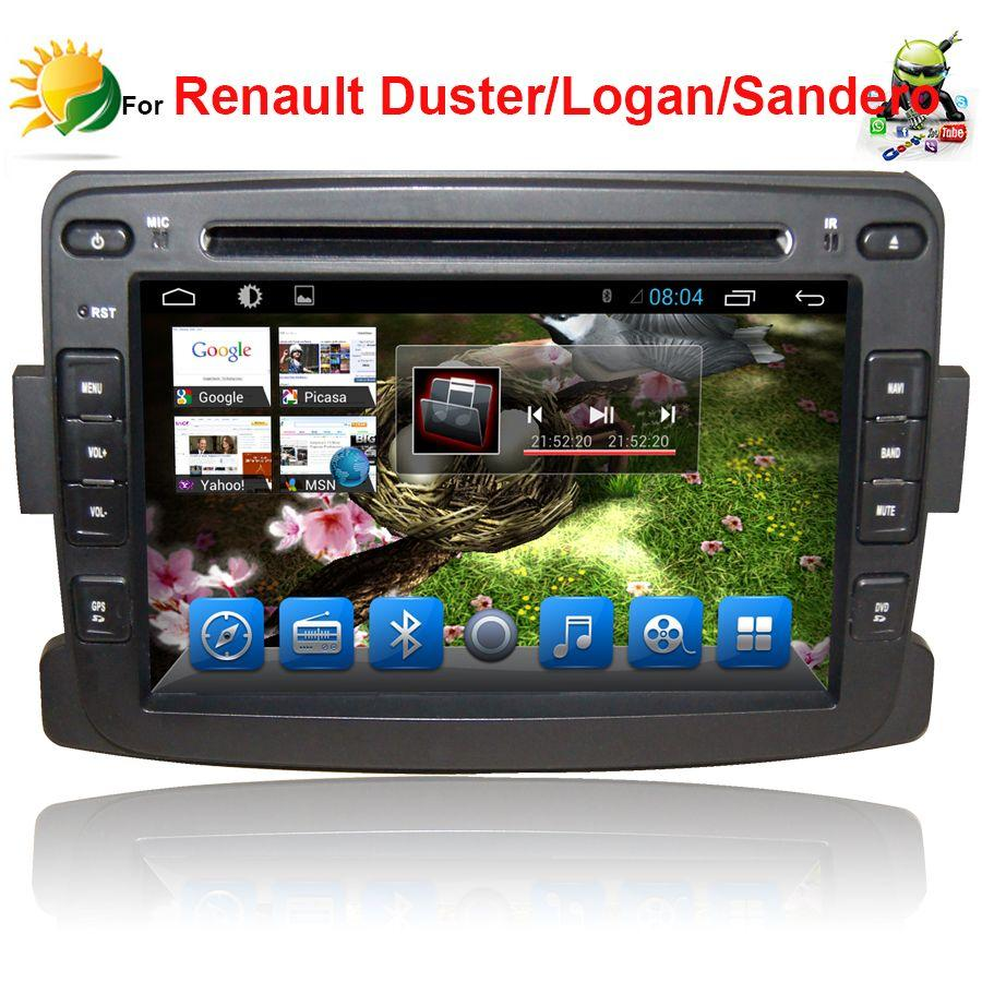 2018 android car stereo for renault duster car dvd player with gps navigation 3g wifi 1 din 7. Black Bedroom Furniture Sets. Home Design Ideas