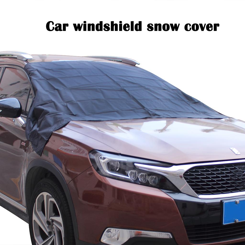 Car Ice Cover Windshield Front Window Cover Prevent Snow Ice Screen