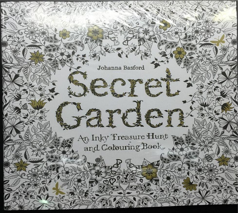 Secret Garden Adult Coloring Book Bulk Enchanted Forest New