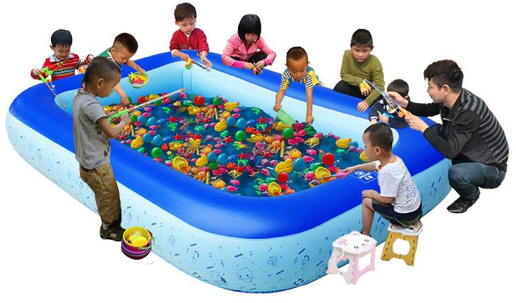 2017 Inflatable Fishing Pool Swimming