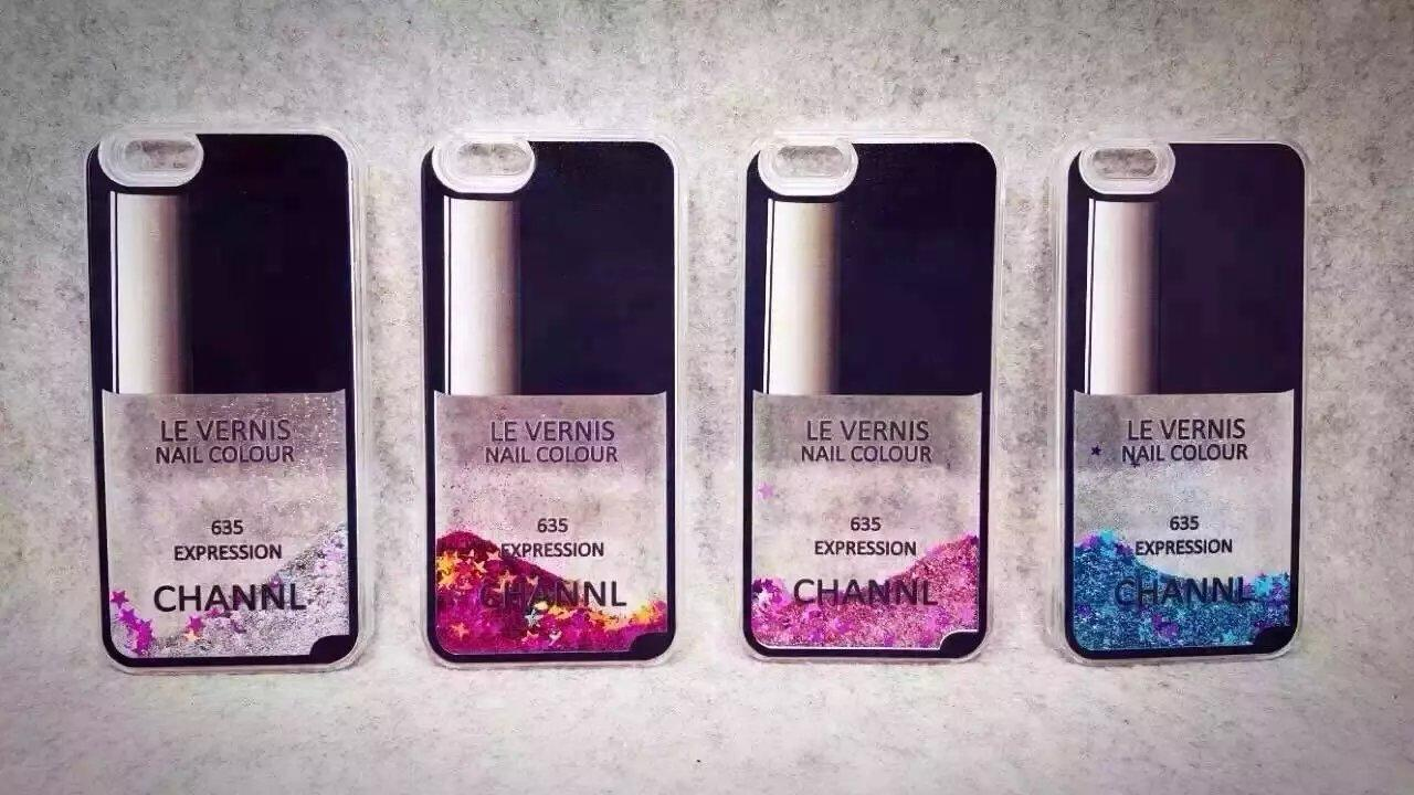 Iphone 6 Cases Flow Liquid Style Luxury Nail Polish Back Cover Case ...