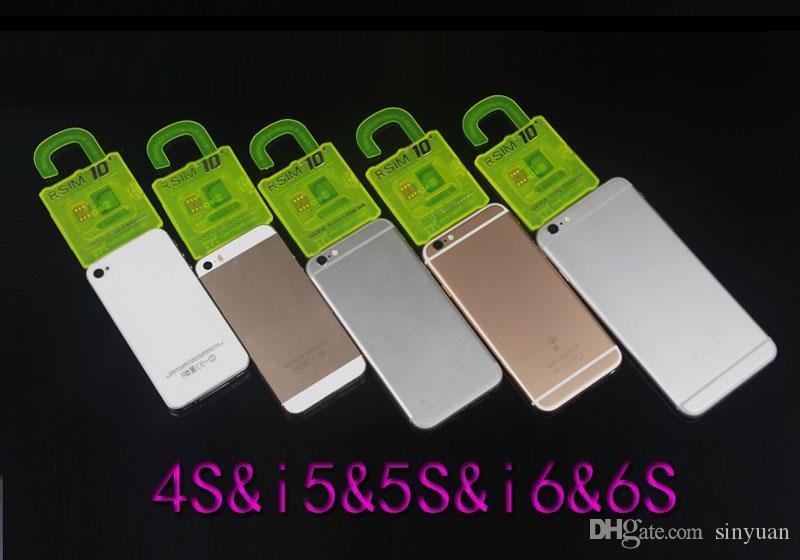 Orijinal iphone 6splus 6 5s 5 4s IOS9.1 9.0 IOS7.X-9.X Açılış Kartı R-SIM 10 + RSIM 10 + Rsim10 + CDMA GSM 3G 4G SB AU SPRINT ekleme Rpatch taşıyıcı