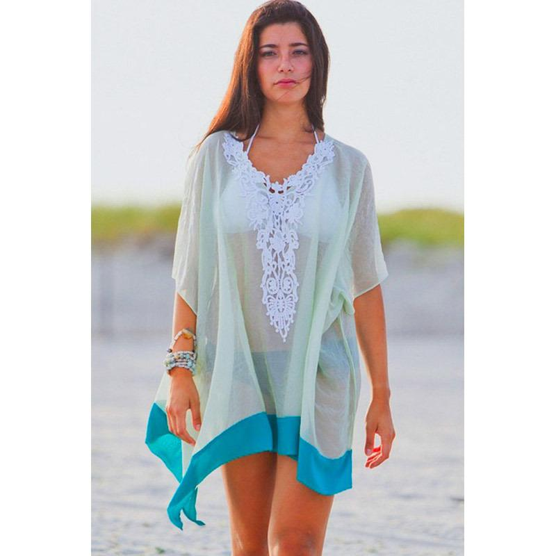 f2b63fdd1a6 Vestidos Playa Bohemia Beach Cover Up Swimsuit Cover Up Summer Dress ...