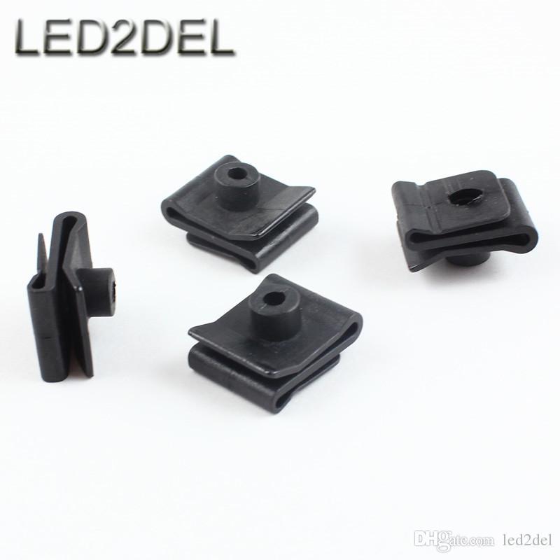 wheel arch cover plastic fender lined splash shield clip u nut