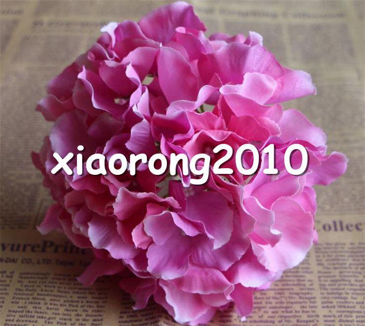 Diâmetro de flor de seda quente de hortênsia. 16 cm / 6.3