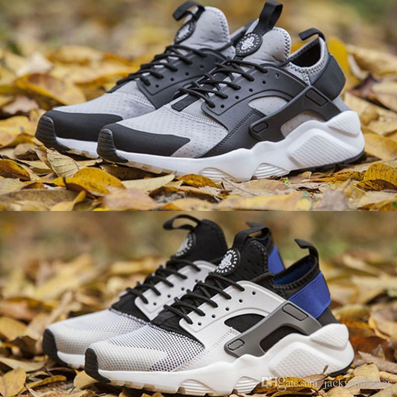 4f4393d6ac322 Wholesale Air Huarache Running Shoes 2019 Men S Women S Huaraches 4 Outdoor  High Quality Run Ultra BR Walking Sport Shoes Trainers Hot Sale Barefoot  Running ...