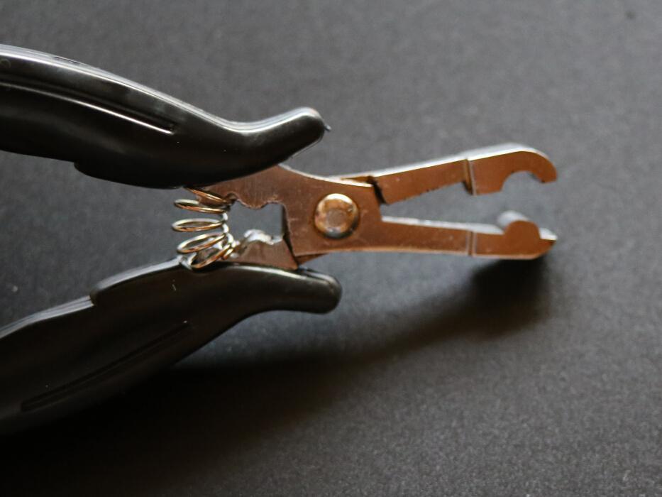 Super Quality Hair Pluier -Heat Fusion Glue Keratyn Klejnoty / mikro pierścienie Szczypce do rozszerzenia włosów