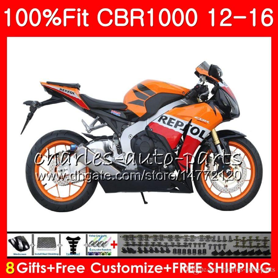 Injection For HONDA CBR1000 RR Stock Repsol CBR 1000 RR 12 16 88NO73 CBR 1000RR 12 13 14 15 16 CBR1000RR 2012 2013 2014 2015 2016 Fairings