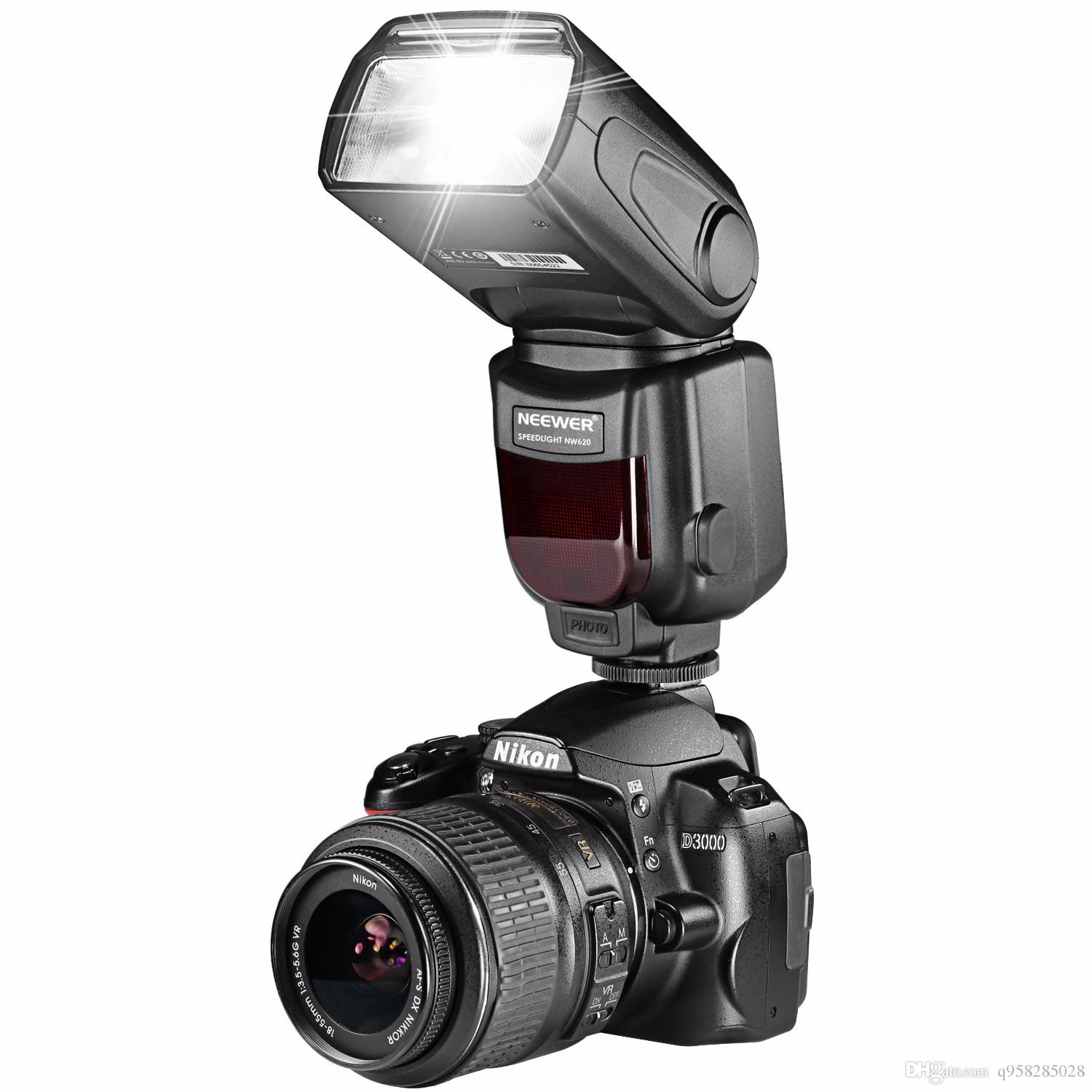 2019 Neewer Nw 620 Manual Flash Speedlite With Lcd Display For Canon Nikonand Other Dslr Cameras