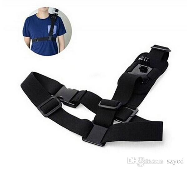 Go pro Hero3 Accessories Shoulder Strap Mount Sj4000 Camera Chest Harness Belt Adapter For GoPro hero 2 3 3+ 4 Black Edition