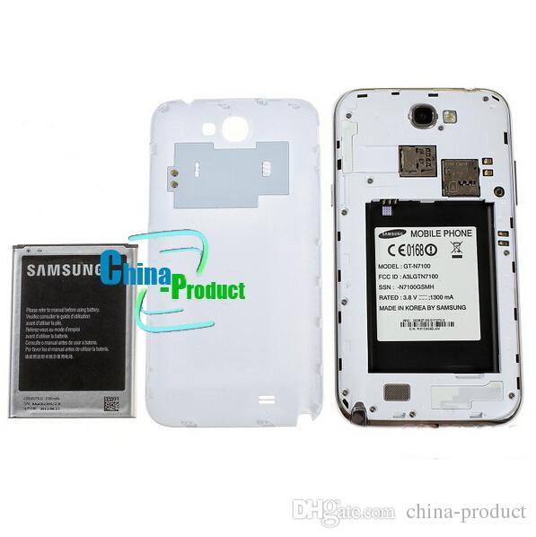 Оригинальный Samsung Galaxy Note II 2 N7100 Android 4.1 сотовый телефон 5,5