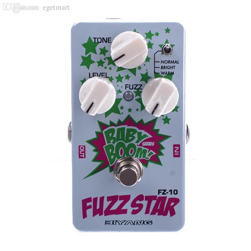 Biyang Baby Boom FZ10 Pedal de bajo de guitarra Pedal Fuzz Star Distortion Envío gratis