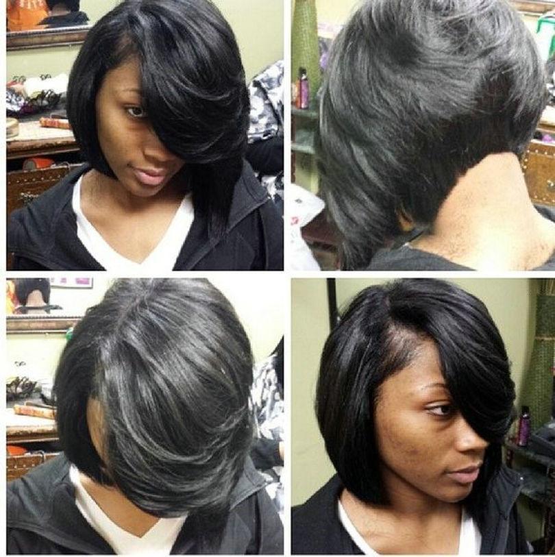 Dalgalı Bob İnsan Saç Peruk yan Siyah Kadınlar Için süpürüldü Bangs 250% yoğunluk Bakire saç Tam doğal Ön dantel Peruk bob tarzı