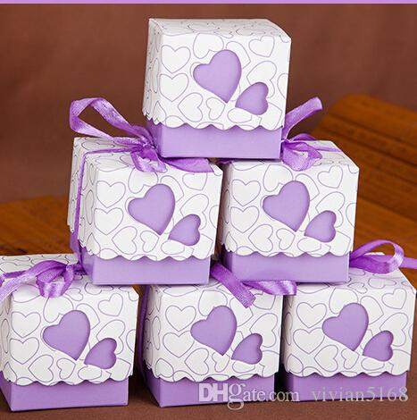 Love Gift Box Diy Favor Holders Creative Style Polygon Wedding – Card Gift Box Wedding