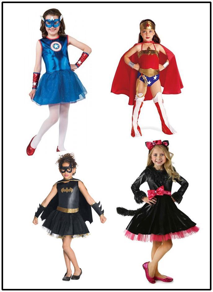 9 Designs Girls Halloween Lace Dresses Avengers Batman Cosplay Performance Dresses The Pirates Theme Costume Dresses For 80 140cm Girls Halloween Costumes ...  sc 1 st  DHgate.com & 9 Designs Girls Halloween Lace Dresses Avengers Batman Cosplay ...