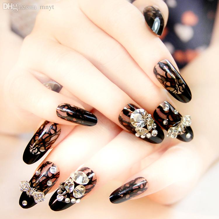 Wholesale The Most Beautiful Bride Gorgeous Bright Red Manicure