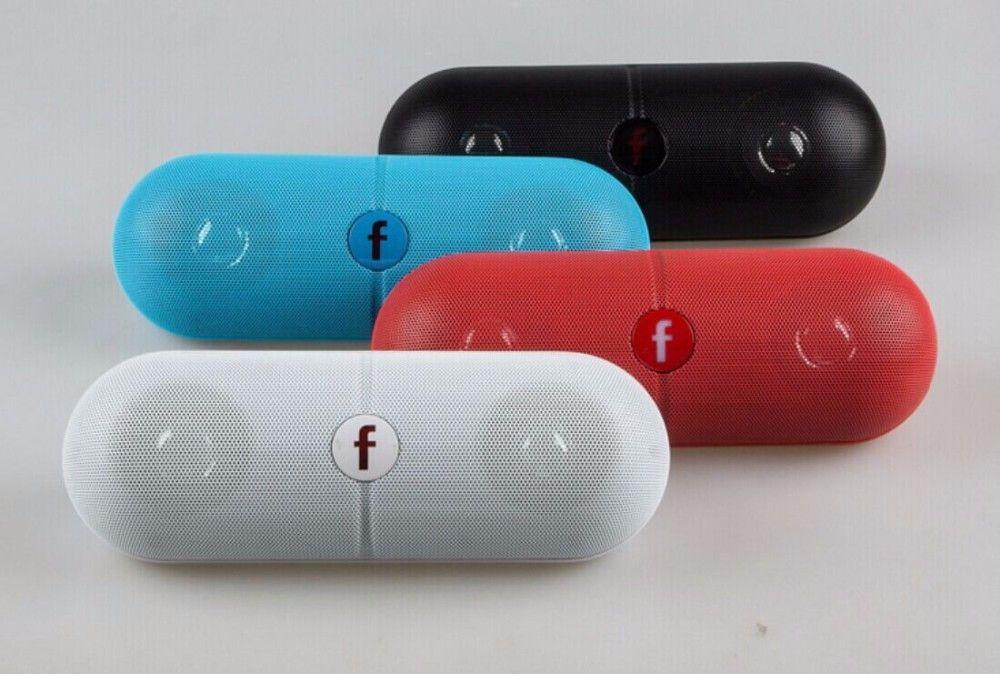 XL Président Haut-Parleur Bluetooth Haut-parleur Pill Speaker XL avec Couleur Noir Boîte Au Détail