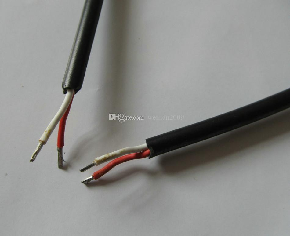 20 Article / pack  22AWG DC Power supply Plug L-shaped 5.5X2.5mm / 5.5*2.5 male 90 Right Angle Jack with Cord Connector Cable 29cm