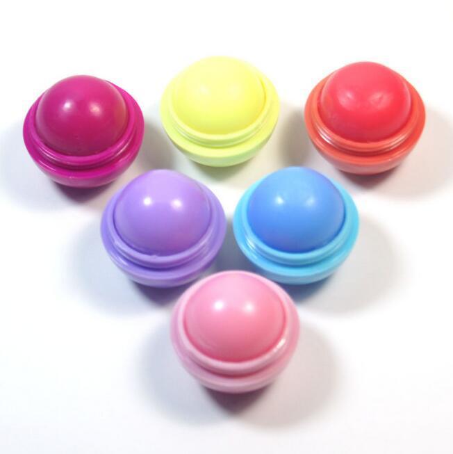 3D 메이크업 라운드 캔디 컬러 모이스춰 라이징 립 밤 천연 식물 구 립 글로스 립스틱 과일 만들어 낸 립 일품