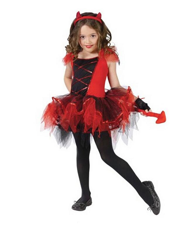 2015 Cute Kids Witch Costumes For Cat Girls Halloween Costume For ...