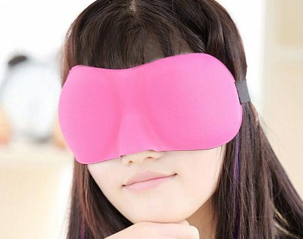 Hot Sales 3D stereoscopic relieve fatigue Sleep Rest Travel Eye Mask Sleep Masks cotton Sponge Cover Blindfold Shade Eyeshade MOQ