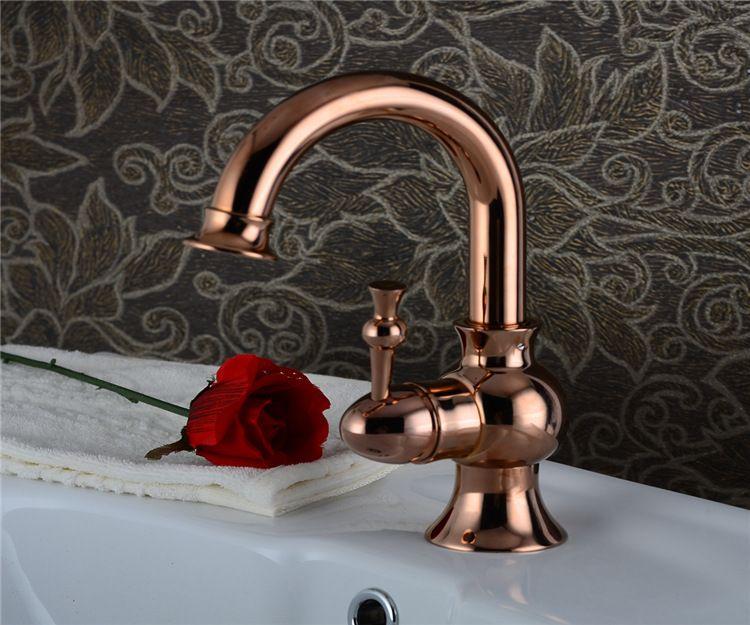 Roman Bronze Porcelain Faucets Kitchen Swivel Bathroom Basin Brass Sink Faucet Crane Mixer Tap