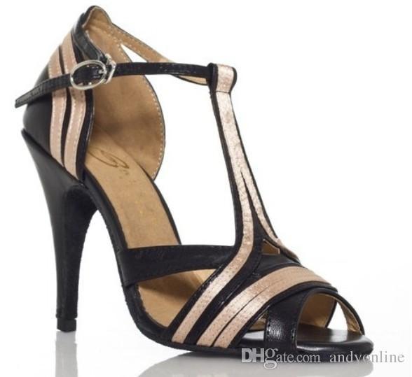 High Heeled Tango Shoes Men