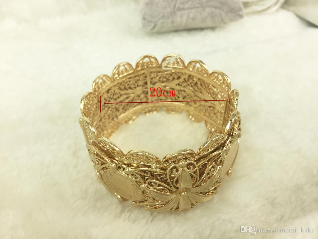 men designer officials kada imitation p j gold plated s