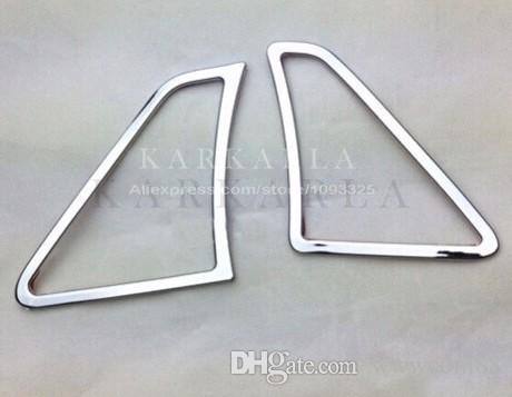 2 STÜCKE Für KIA RIO K2 2011-2014 outlet pailletten gewidmet innen ABS chrom trim änderungen