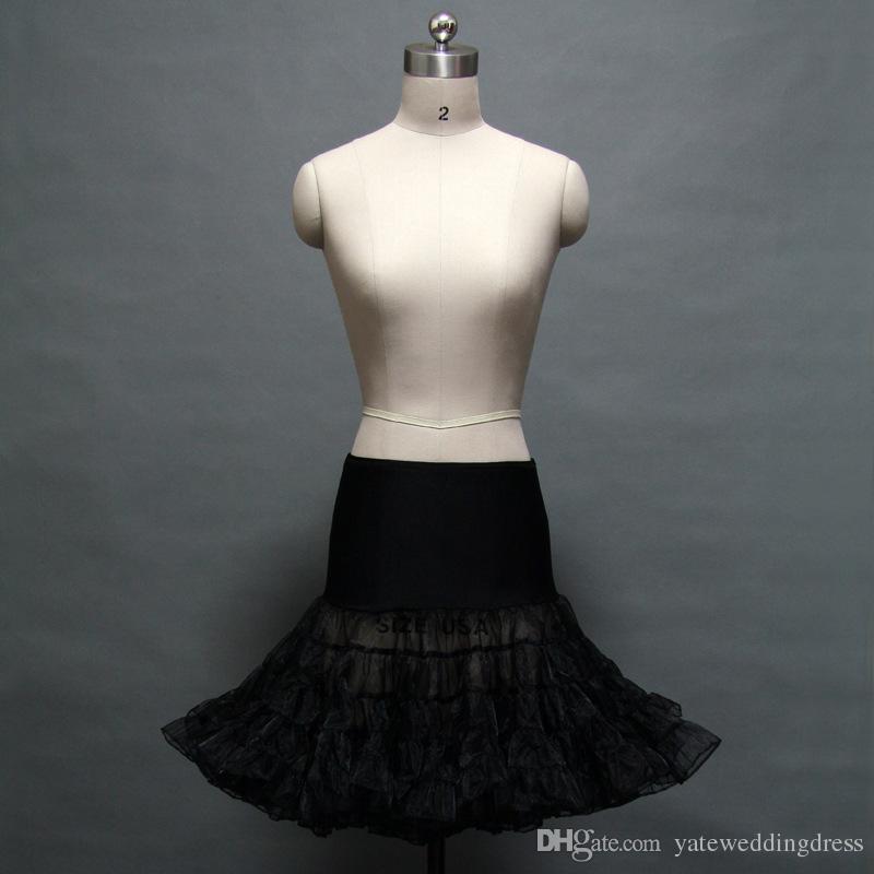 Kolorowe Purpurowe Petticoats 1950S Styl Tulle Custom Make Downe kolory Tanie w magazynie Underskirt Darmowa Wysyłka Tulle Spódnice Petticoats Dres