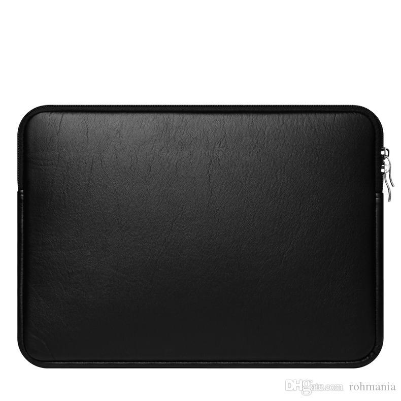 Ноутбук рукав 11-15 дюймов защитный чехол сумка для MacBook Air Pro Retina Dell 11.6 13.3 15.6 водонепроницаемый искусственная кожа