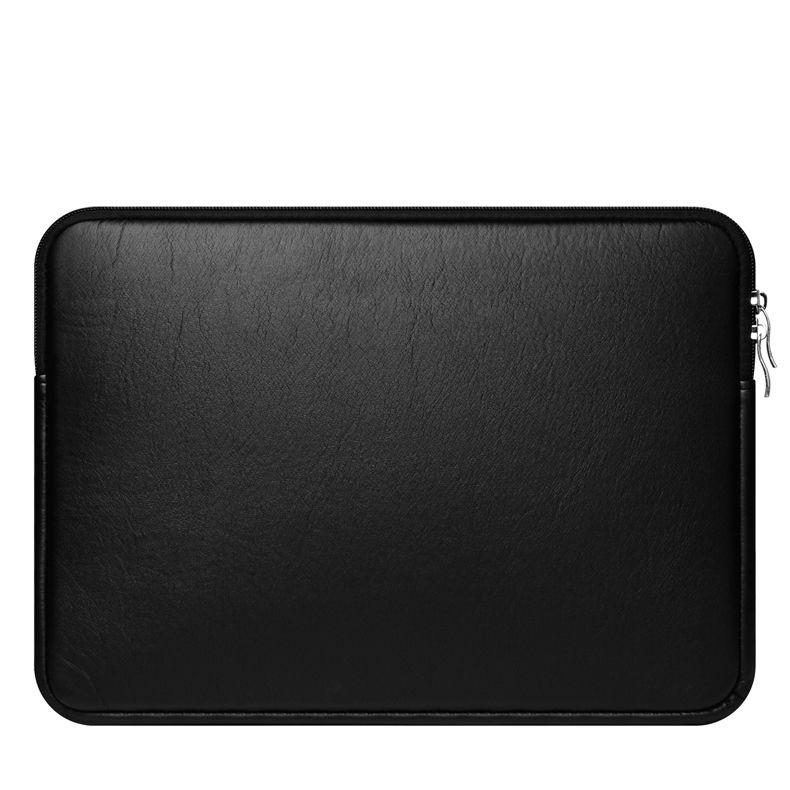 Laptop-Hülle 11-15 Zoll Schutzhülle Tasche für MacBook Air Pro Retina Dell 11.6 13.3 15.6 Wasserdichtes PU-Leder