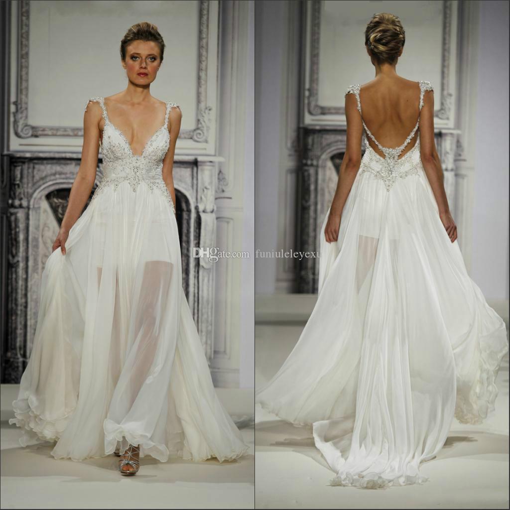 short backless wedding dresses | Wedding