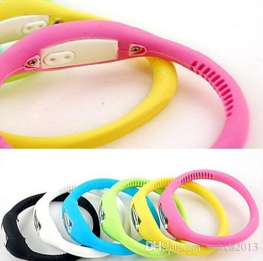 Wholesale-new Silicone Minus Ion Sports Wristwatch Bracelet Sports watch