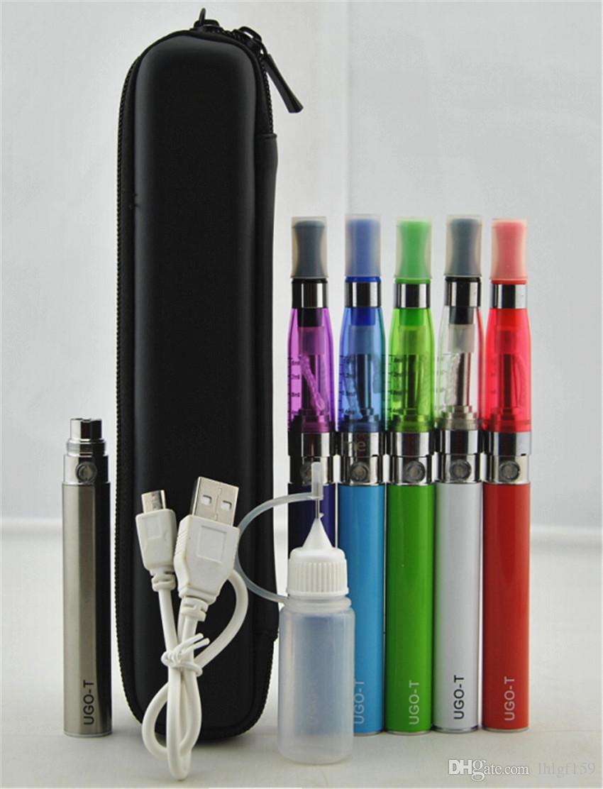 Ugo-T CE5 CE4 Zipper case kit ego evod CE4 CE5 Vape pens VS globe wax pens MT3 GS H2 starter kit wax vaporizer electronic cigarette
