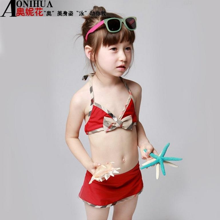 ea99bceb11 Hug Me New Korean Baby Girls Bikini Kids Girl Swimwear Baby Swimsuit  Ruffle/Bow Princess Three Pieces Swim Cute Clothing BB-336