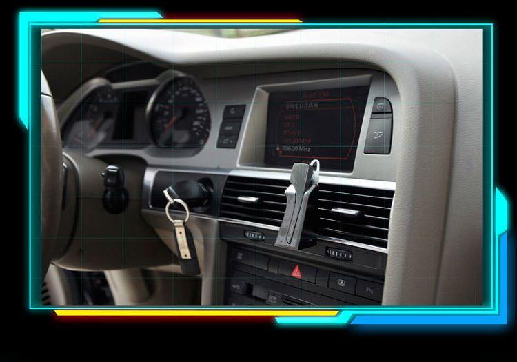 Dacom C-Blue1 무선 블루투스 자동차 차량 이어폰 지원 NFC 마이크로폰 스테레오 핸드 프리 헤드셋 아이폰 삼성 스마트 폰