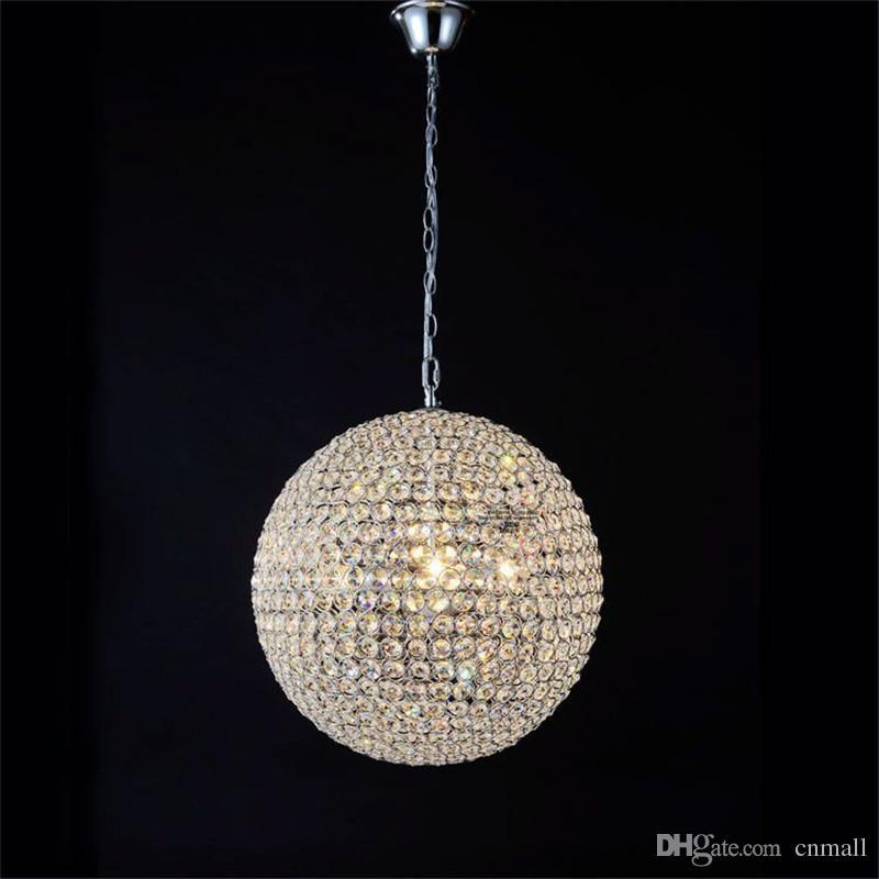 Compre led crystal ball iluminacin cristal luminarias minimalista compre led crystal ball iluminacin cristal luminarias minimalista saln dormitorio comedor vestbulo iluminacin k9 cristal lmpara colgante ball a aloadofball Image collections