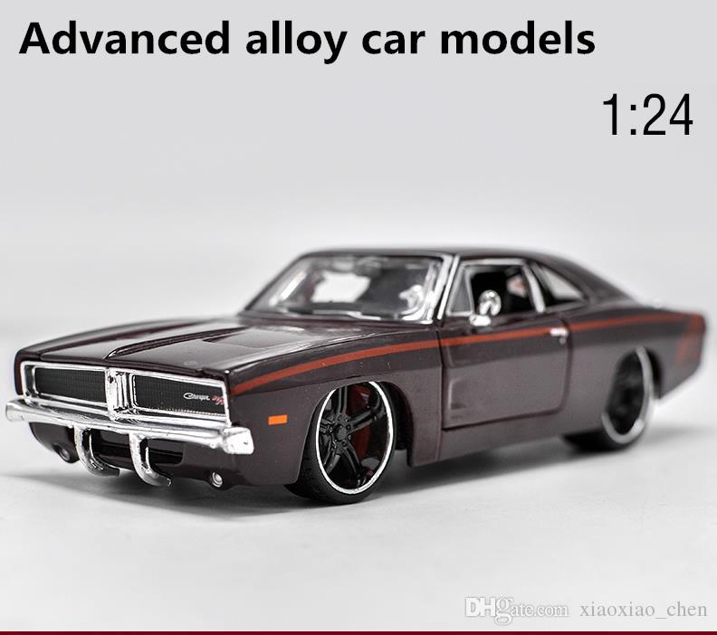 2018 High Simulation Dodge Attacker Sports Car, 1:24 Scale Advanced Alloy Car  Model Diecast Metal Model Toys Collection Model From Xiaoxiao_chen, ...