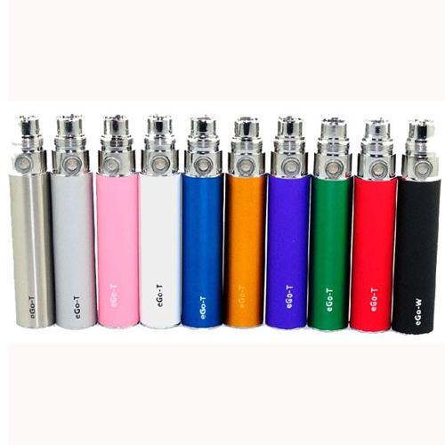 E Cigarette EGO Batteries Colorful EGO T Battery for 510 Thread Vaporizer MT3 CE4 CE5 CE6 ViVi Nova DCT atomizer 650/900/1100mah