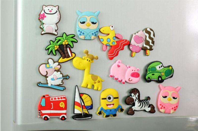 Kühlschrank Magnete : Großhandel nette silikon mini magnet cartoon tier kühlschrank