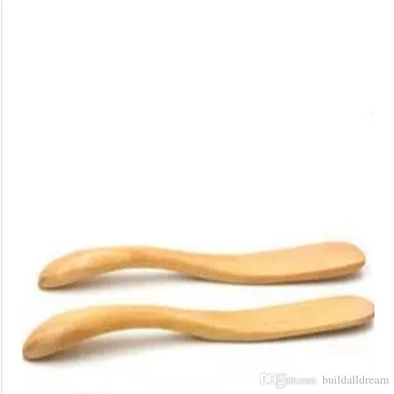 Doğal ahşap peynir bıçağı Yeni arrivel ahşap ekmek tereyağı spatula Yeşil ve çevre koruma tereyağı bıçağı a809-a816