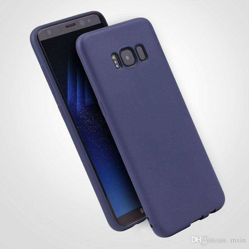 cheap for discount 733c0 ff850 Ultra thin Candy Color Matte Soft TPU Back Silicone Rubber Case Cover For  Samsung Galaxy C7 C8 J2 J3 J5 J7 2017 Prime Pro Max Plus
