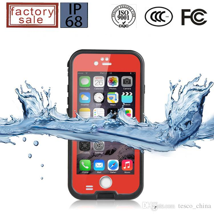Hot Selling IP68 Redpepper Waterproof Shockproof Dustproof Snowproof Hard PC + TPU Case Cover For Samsung Galaxy S5 i9600 Retail Package