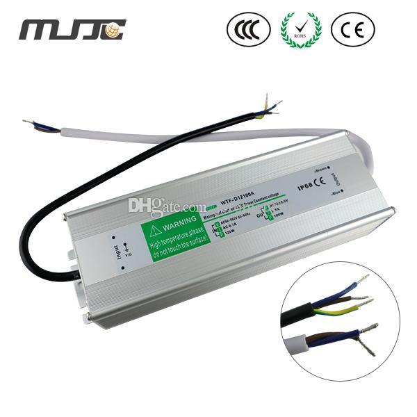 IP68防水LEDドライバー電源トランスAC110V / 220V DC12V / 24V 60W 80W 100W 120W 150W 200W 250W 300W