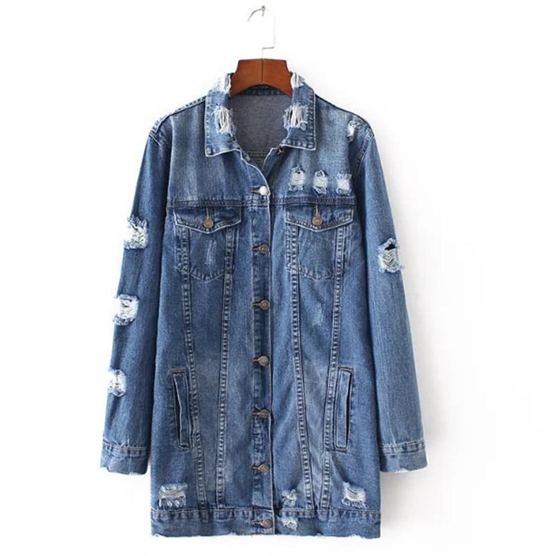 Wholesale Women S Fashion Casual Blouse Tumblr Clothing Denim Jacket