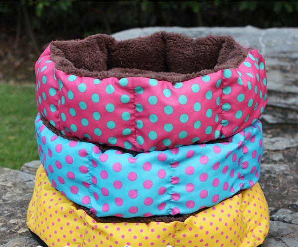 الشتاء الدافئ باو نمط الكلب السرير منزل جميل جميل مادة مناسبة الحيوانات الأليفة cusion الكلب القط بيت الكلب